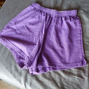 Purple Soffe Shorts